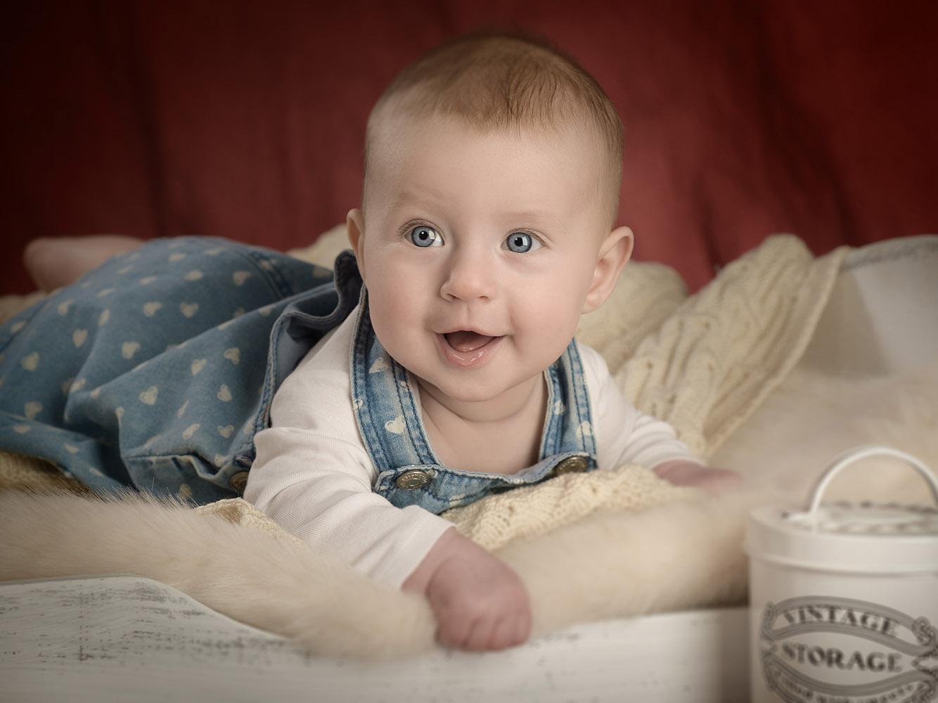 Babyfotos Bremen Vintage