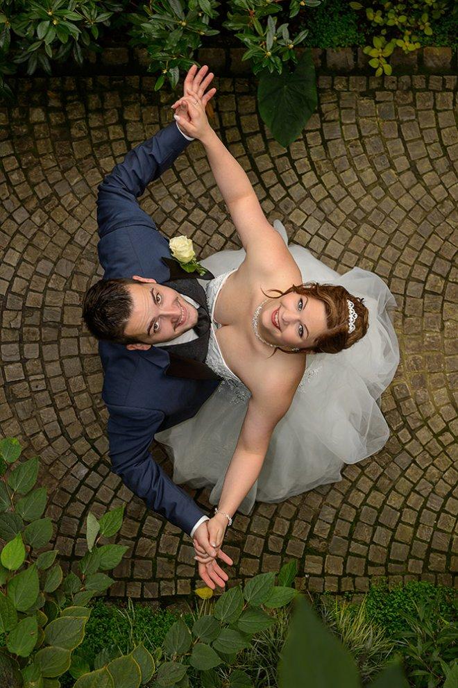 Hochzeitspaar Botanika Bremen