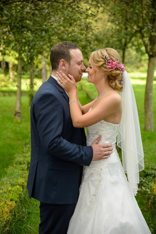 Hochzeitspaar im Park Höpkens Ruh