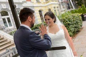 Hochzeitspaar am Stern Bremen