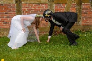 American Football Hochzeit