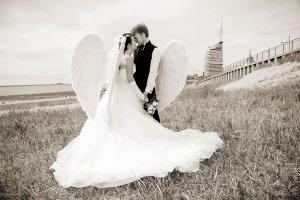 Engelsflügel Hochzeit Bremerhaven