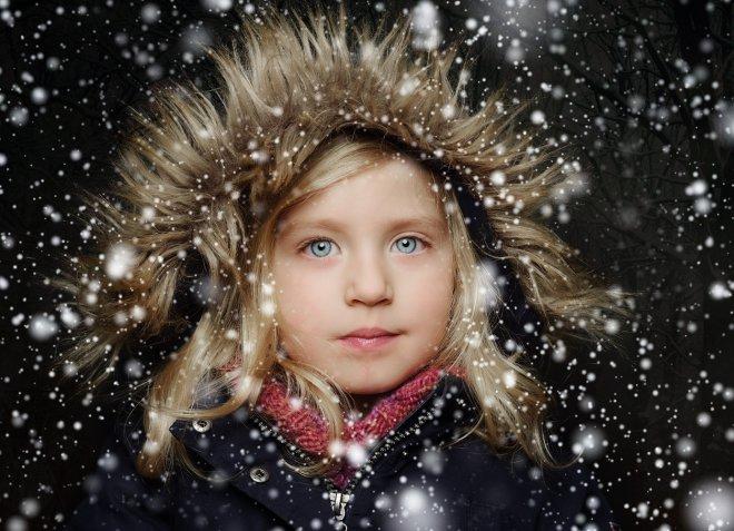 Fotoshooting Bremen im Schnee