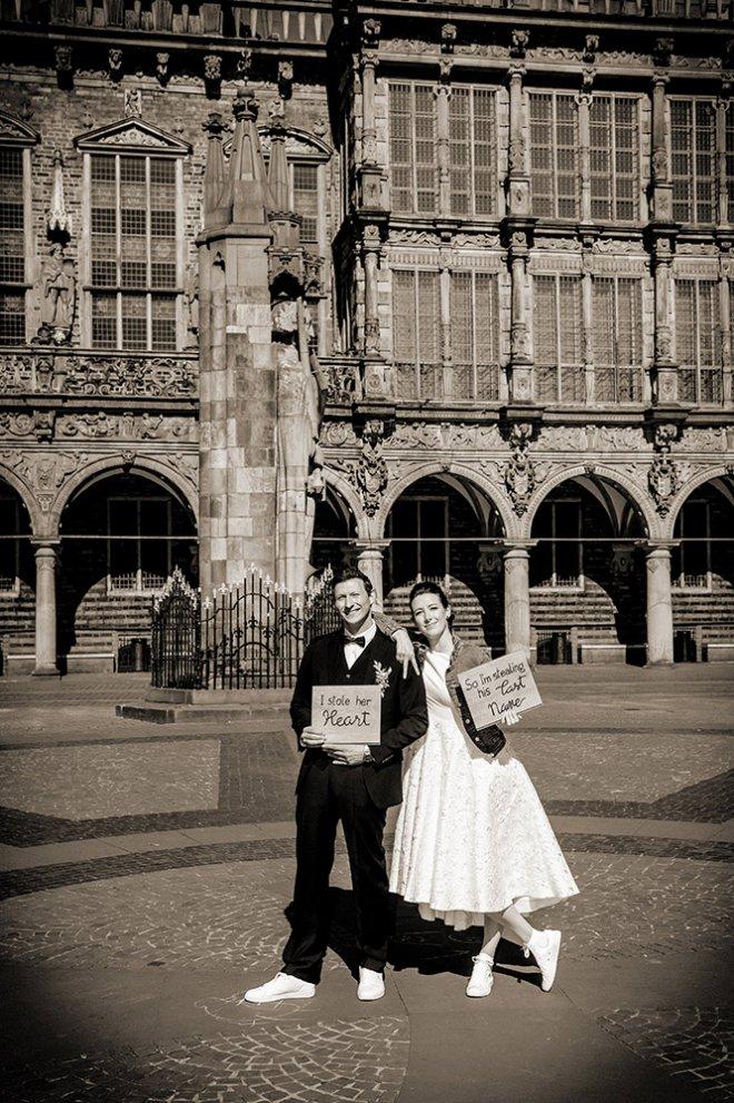 Corona Hochzeit Bremer Roland