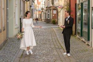 Corona Hochzeit Bremen Schnoor